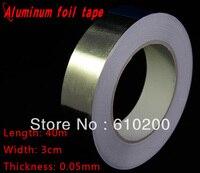 Miễn phí Vận Chuyển, phụ kiện BGA Nhôm lá mỏng băng cho BGA reballing sử dụng (30 mét x 40 m x 0.05 mét) Bạc băng dính Băng