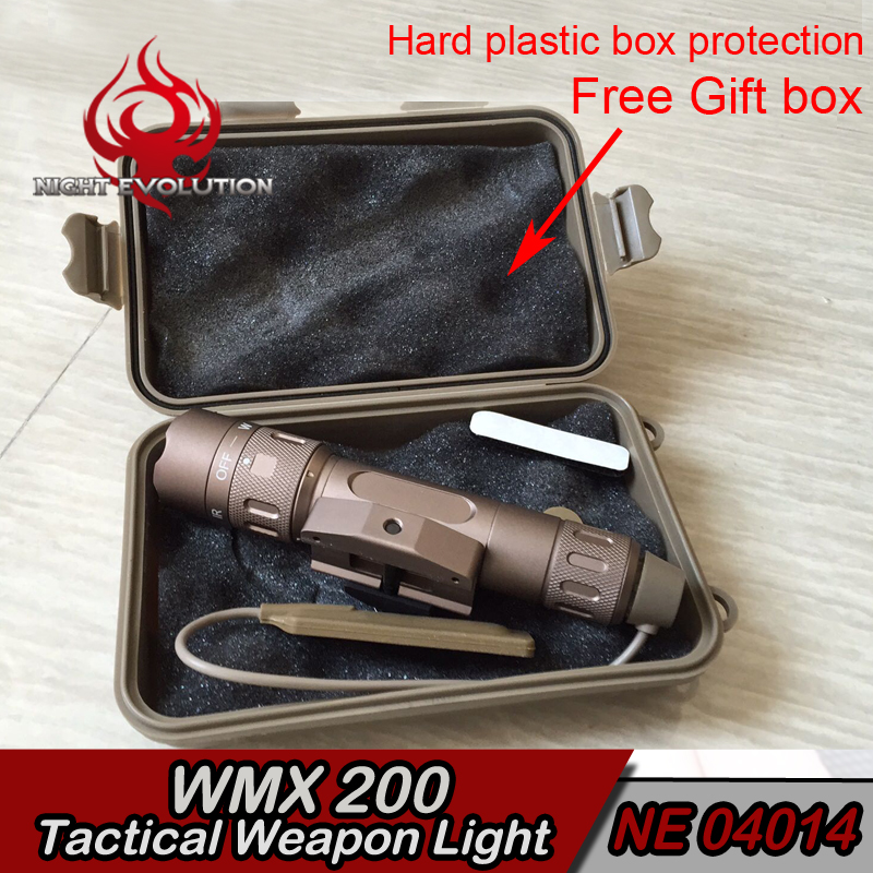 Element WMX200 Tactical Light IR LED Hunting weapon flashlight softair wapens arme rifle pressure gun armas