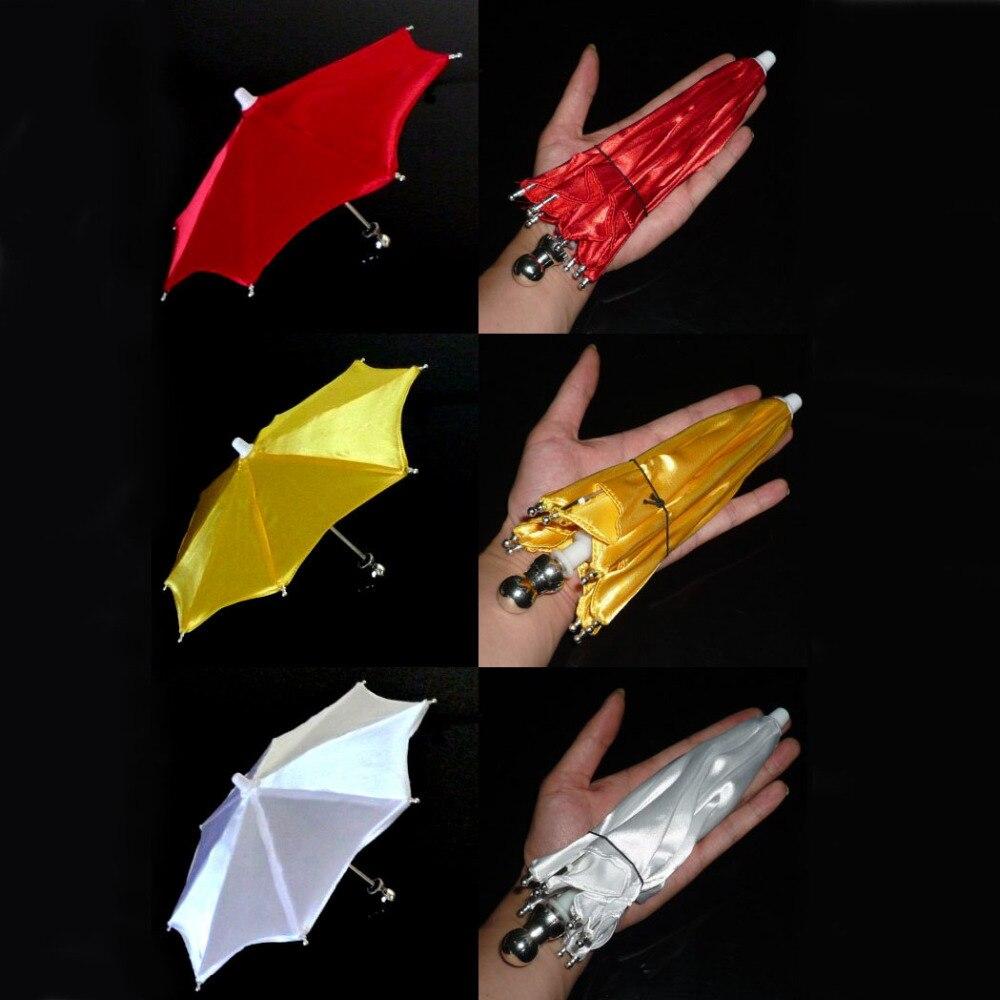 Super Mini parapluie en 21 cm (couleur rouge/blanc/jaune disponible) tour de magie apparaissant scène accessoire magique accessoires magiques Gimmick