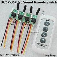 Truck Van Car Bus Light LED Strip Light Micro Remote Switch 6V 36V Wide Voltage Range 6V 7.4V 9V 12V 14V 16V 18V 24V 28V 36VTXRX