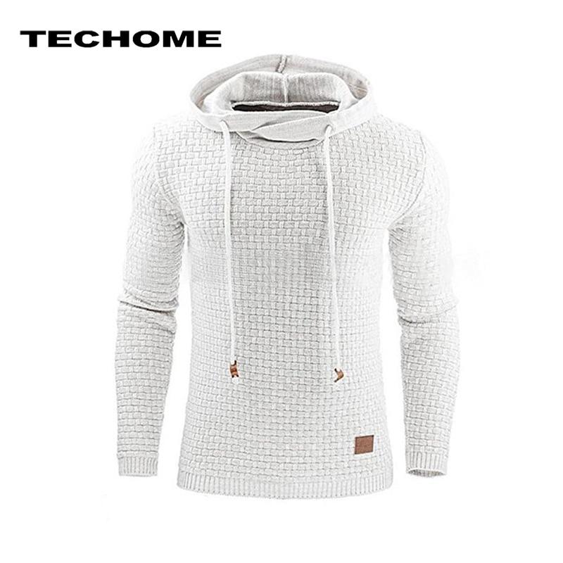 Casual Hoodies Brand Men Solid Color Hooded Sweatshirt Male Hoody Hip Hop Autumn Spring Hoodie Mens Pullover Plus Size 4XL