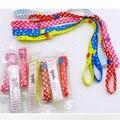 6 unids/lote Productos Para Bebés Fija de llevar Juguetes Cochecito Asiento de Seguridad Bind Cinturón Clip de Cochecito Carro Gancho Cochecito Accesorios
