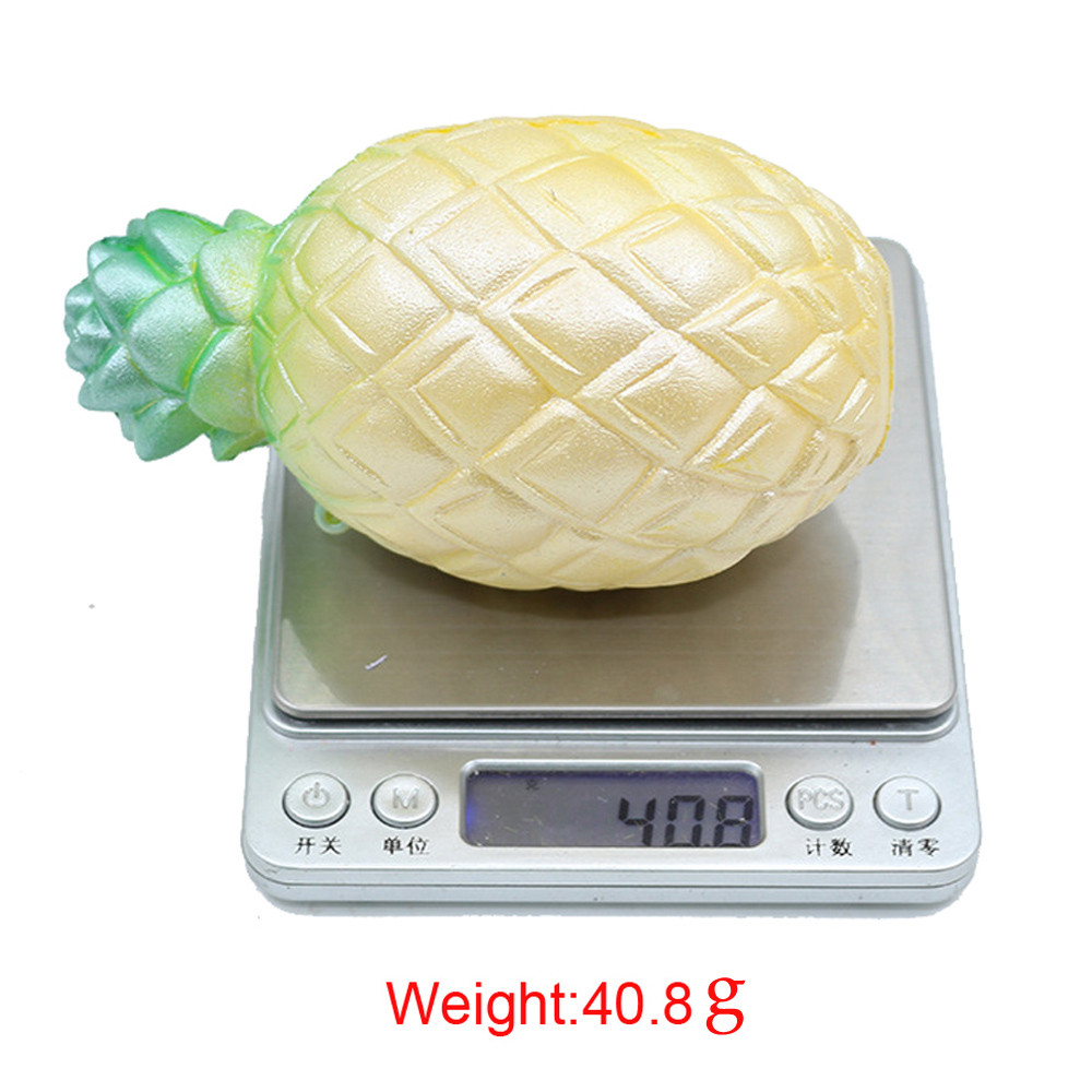 Squeeze toy Beautiful Soft Pineapple Simulation Squishy Putty Scented Stress Kids Clay Toy Gifts p# dropship