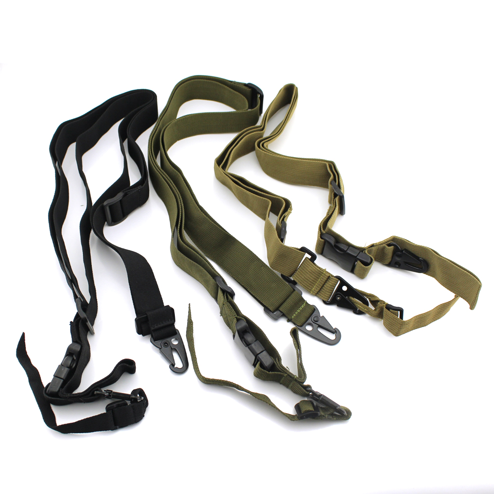 Tactical 3 Point Quick Detach Sling Strap Transition Release Rifle Sling Gun Sling For M4 M16 RifleTactical 3 Point Quick Detach Sling Strap Transition Release Rifle Sling Gun Sling For M4 M16 Rifle
