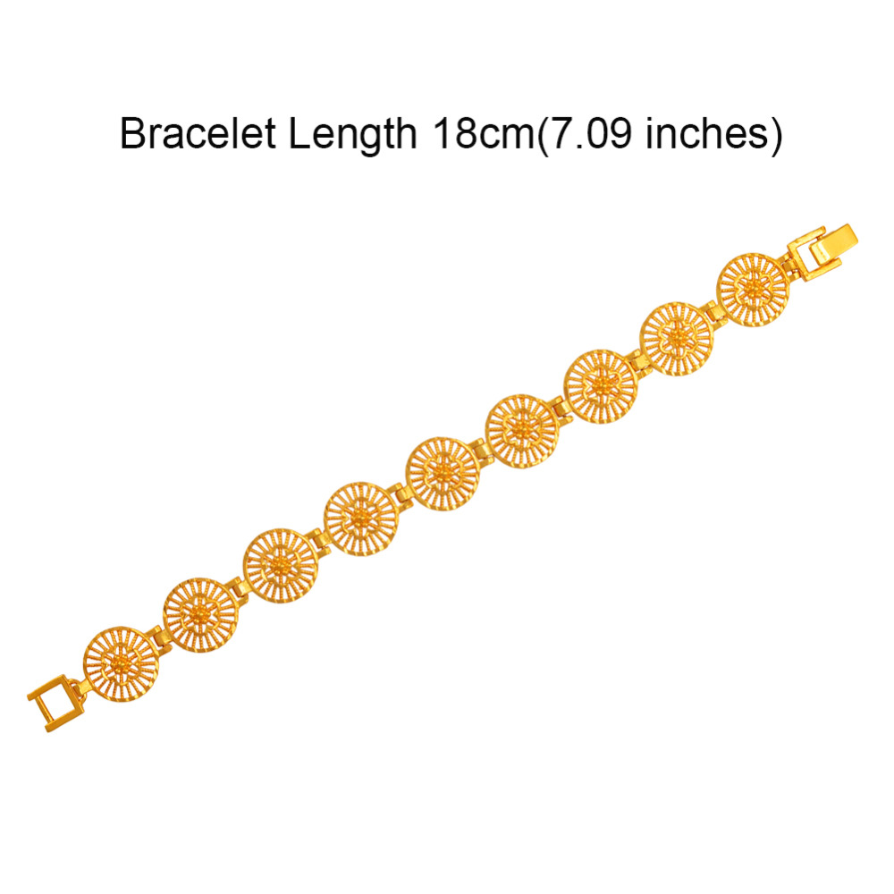 Paspartoe Hema Us 4 36 Anniyo 18 5cm Ethiopian Bracelet Gold Color Eretrian Bangle Women Jewelry African Style Hand Chain Arab Spain In Charm Bracelets From
