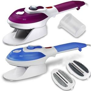 Image 4 - آلة تنظيف الملابس بالبخار الأجهزة المنزلية العمودي باخرة مع المكاوي فرش الحديد الكي الملابس للمنزل 220 V