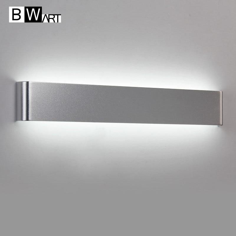 Luce Specchio Bagno Led.Bwart Alluminio Del Metallo Minimalista Led Bagno Di Luce Specchio