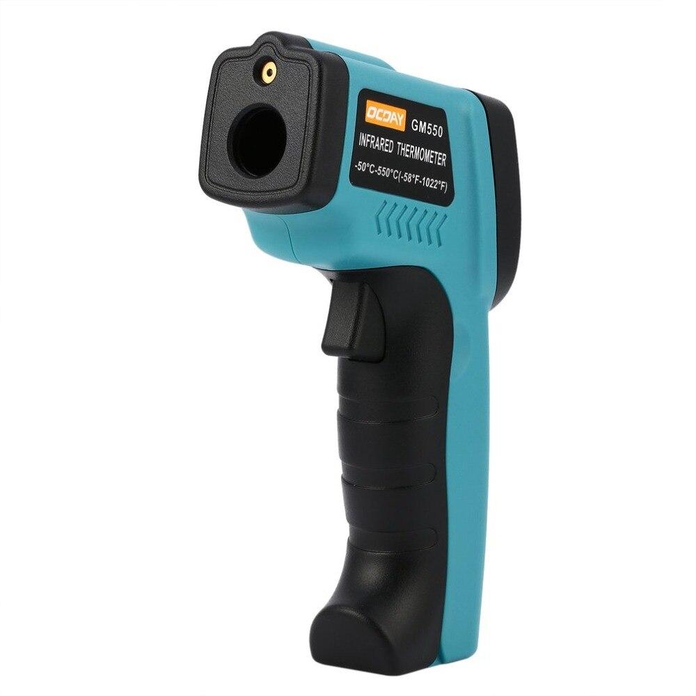 GM550 Digital Infrared Thermometer Temperature Gun Logger Weather Station Wireless Indoor Outdoor Termometro Digital Hygrometer