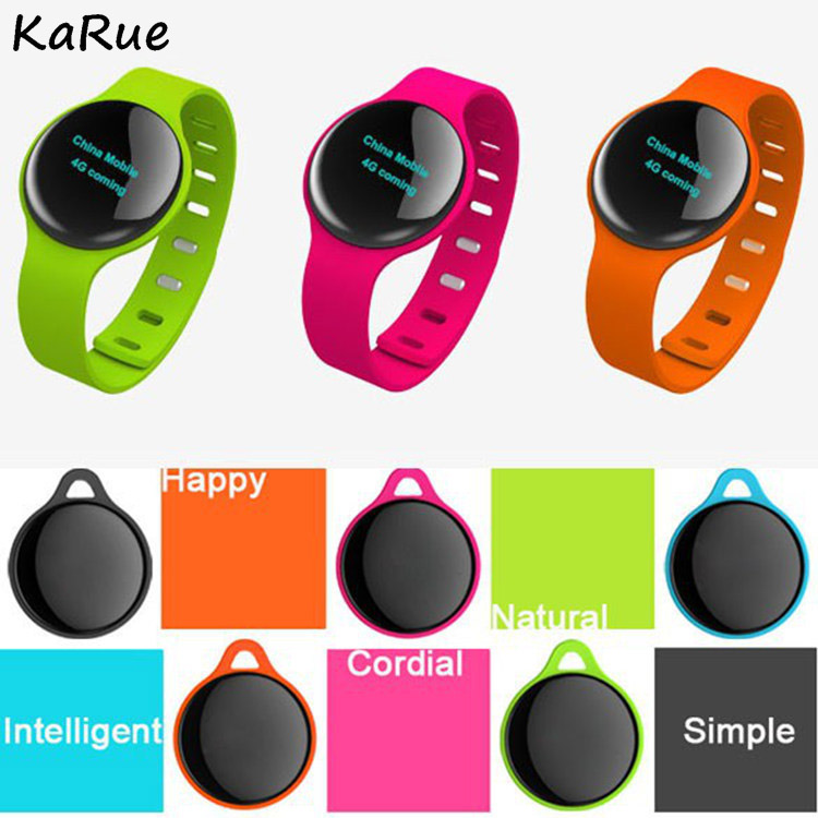 Karue Bluetooth 4.0 Necklace Step Counter Sport Activity Fitness Tracker SmartBracelet Wristband PK Fit Bit H8 ...