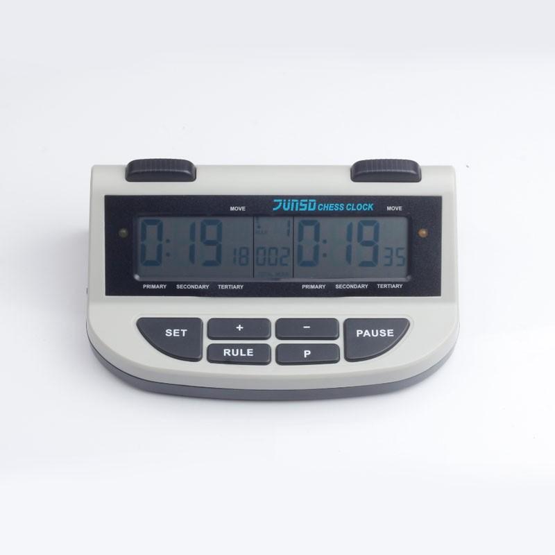 639200b424a Jogo de xadrez Relógio de Xadrez Digital touch button JUNSD Professional  Contagem temporizador para baixo Esportes de Bônus Competição relógios de  xadrez ...