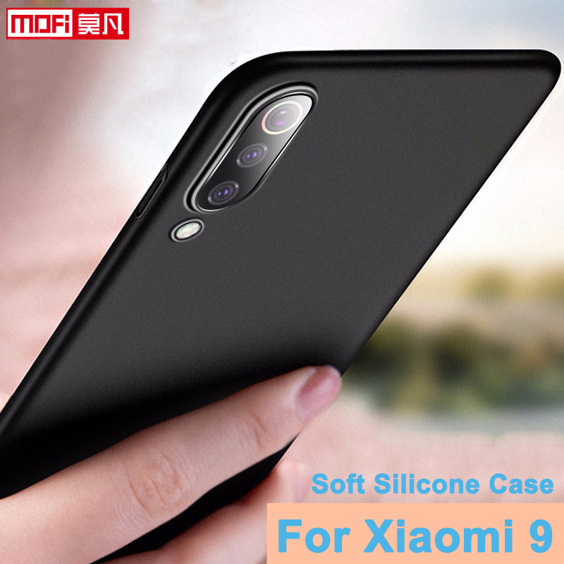 "Image 2 - matte case for xiaomi mi 9 mofi xiaomi mi9 cover soft back silicone slim 6.39"" xiaomi mi 9 explorer coque matte ultra thin case"