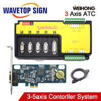 Weihong CNC Controller 3Axis Woodworking Machine Control Card PM95A 3S+Lambda3S for CNC Router Milling & Engraving Machine
