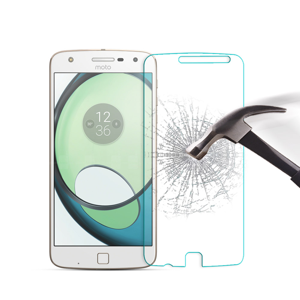 9H Premium Tempered Glass For Motorola MOTO Z Play <font><b>XT1635</b></font> 5.5 <font><b>Screen</b></font> Protector protective film For MOTO Z Play Glass Cover Bags image
