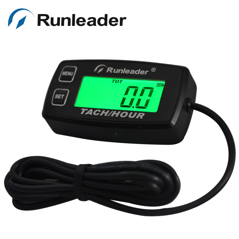 Us 29 56 26 Off Rl Hm035r Backlight Hour Meter Tachometer Rpm For Atv Tractor Generator Lawn Mower Pit Bike Outboard Chainsaw Marine In