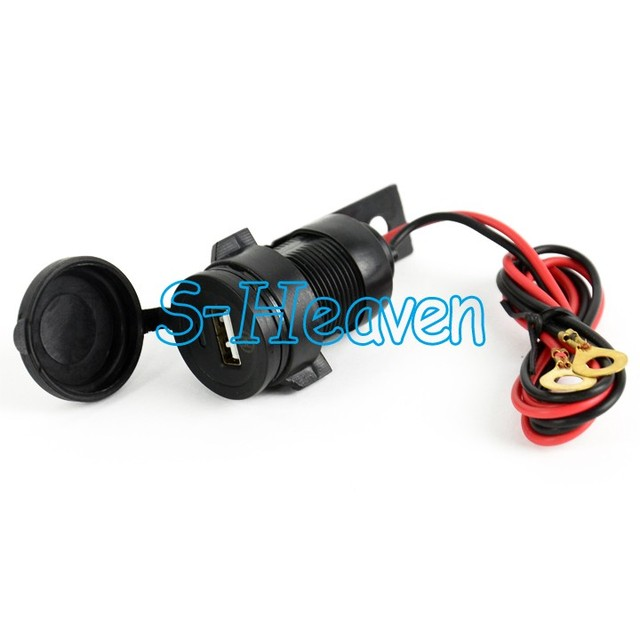 Mobile motorcycle battery charger