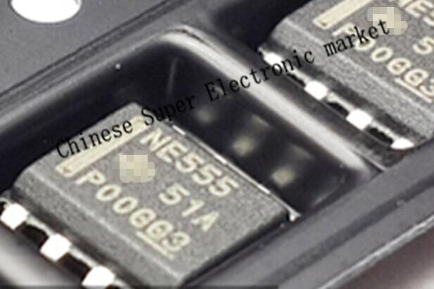 100 шт. NE555DR NE555D NE555 IC 555 SMD
