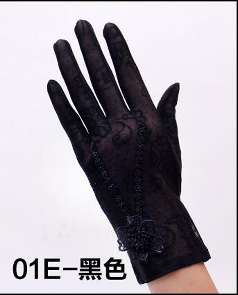 HTB14PnBRFXXXXcCXpXXq6xXFXXXA - Sexy Summer Women UV Sunscreen Short Sun Female Gloves Fashion Ice Silk Lace Driving Of Thin Touch Screen Lady Gloves G02E