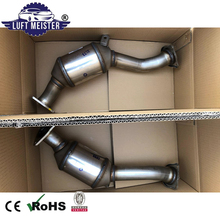Made in Germany Pair Front Catalytic Converter for Porsche Cayenne 3.0T V6 95811302171 95811302210