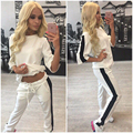 New Arrival Hoodies Sweatshirt 2 piece Set Women Tracksuits Set Cotton Casual women Hoodie And Long Pants new Suit For Femme