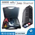 La mejor calidad barato mini portátil coche de arranque salto 68800 mah 12 v de carga micro usb tablet smartphone banco de la energía