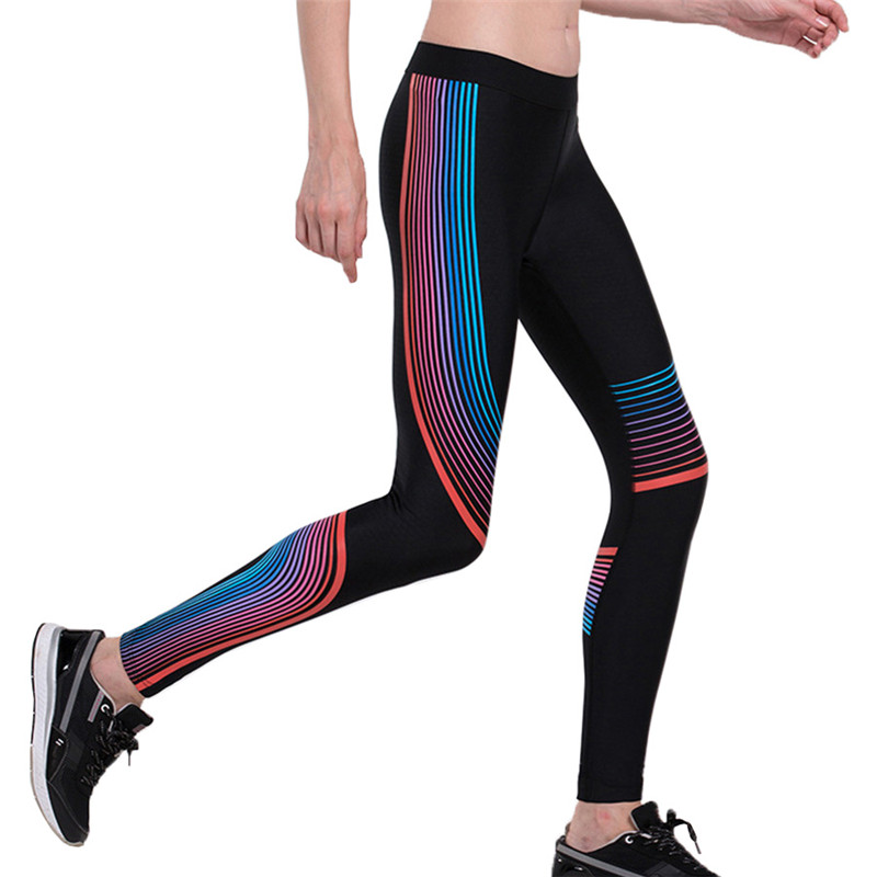 LIDONG Running Pants Women Yoga Leggings Compression Tights Fitness Gym Jogger Jogging Skinny Trousers Sportswear hardlopen