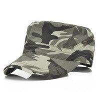Tactische Camo Baseball Cap Mannen Militar Leger SWAT Combat Trein Camping Platte Hoed Mannelijke Casual Camouflage Snapback Vizier Zon Hoeden