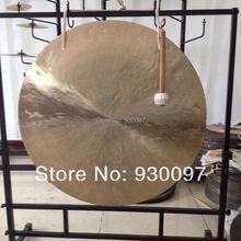 """Музыкальный инструмент 3"""" латунный Гонг+ 30 см маленький гонг для продажи"""