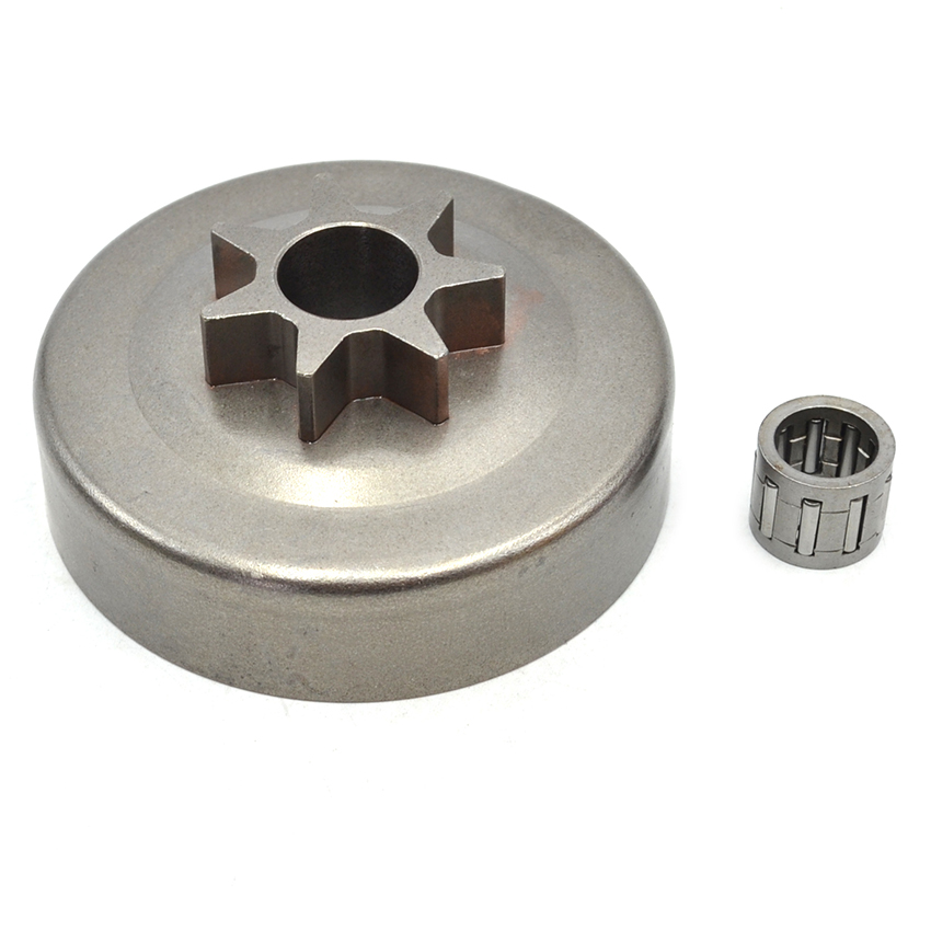 Clutch Drum Needle Bearing 10mmx14mmx12mm Kit For HUSQVARNA 36 41 136 137 141 142 Chainsaw #530047061 recoil pull start starter assemby assy kit for husqvarna 36 41 136 137 141 142 chainsaw genuine parts 530071968