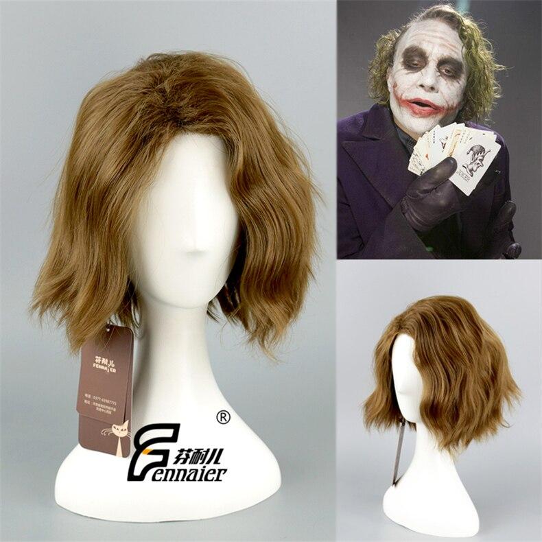 Wig CAP The Dark Knight Joker Anime Cosplay costume Wig