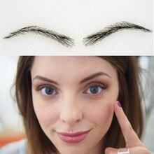 2018 Makeup Sets Maquillaje 03 Free Shipping Tattoo Eyebrows / Hand Made Human Hair Shaping/embroider Eyebrow/false Eyebrow