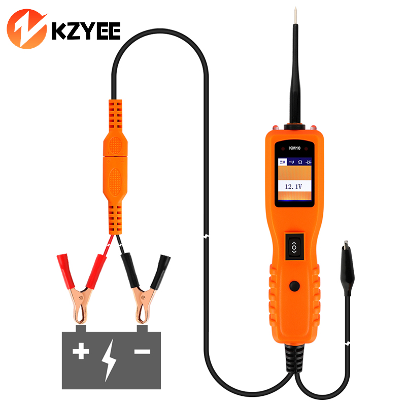 Electrical Tester For Shorts : Aliexpress buy kzyee km v car circuit tester