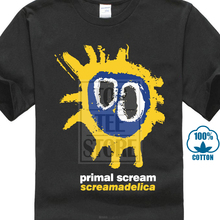 лучшая цена Primal Scream Screamadelica Mens Black T Shirt The Stone Roses The Church