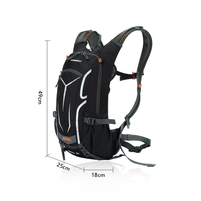 Ultralight Outdoor Breathable Nylon Backpack with Hydration Water Bag