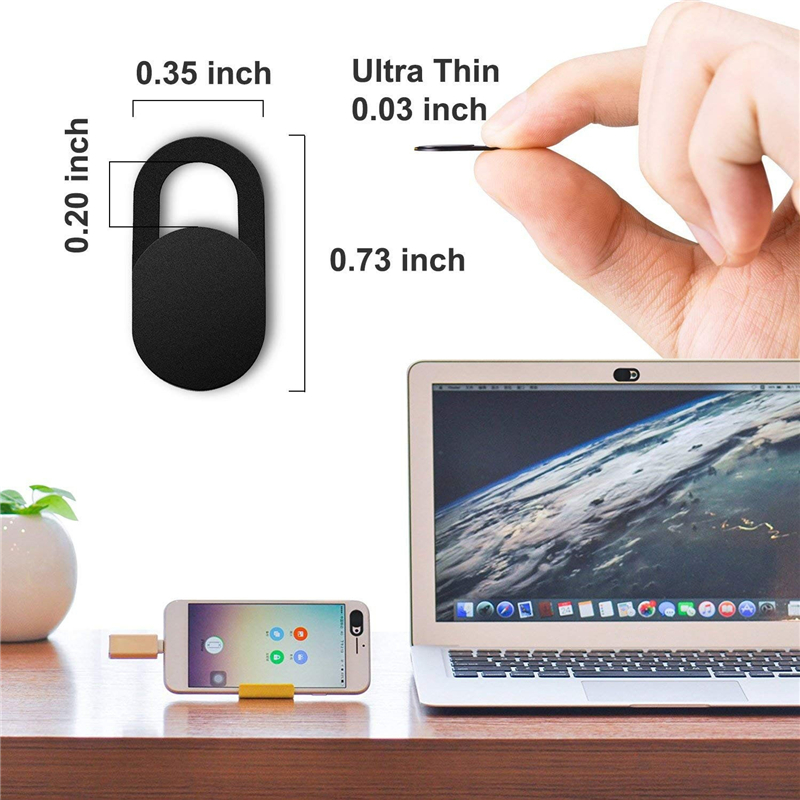 6PCS Webcam Cover Slim Shutter Privacy Protector Cover for Phone Laptops Macbook