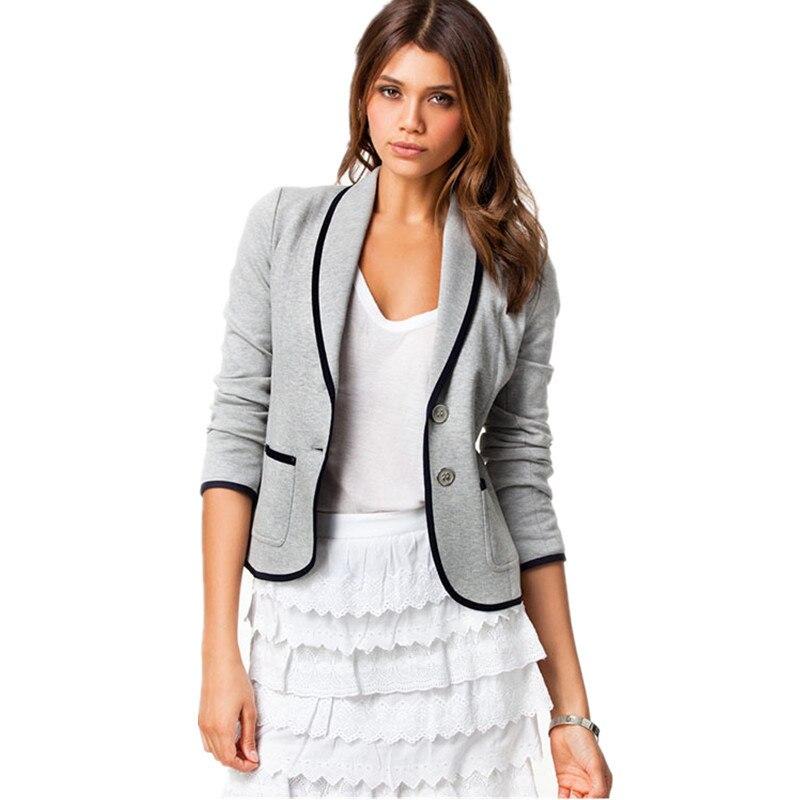 Women Autumn Elegant Windbreaker Formal Lapel Small Suit Sleeve Long Jacket Cardigan Trench Coat Autumn Women New Basic Jackets