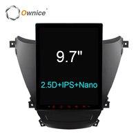 Ownice 9 7 Ips 2 5D Android 6 0 Car DVD For Hyundai Elantra 2012 2016