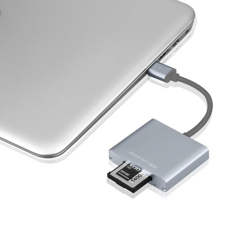 BaseQi MRW-E80 compatible USB3.0/2.0 XQD Carte dédié haute-vitesse Lecteur de Carte