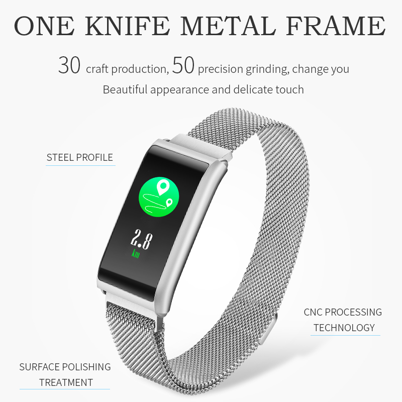 2018 New Trending Product High Quality Android ios woman Smart Band with Heart Rate Monitor Smart Watch Step Fitness Tracker стоимость