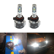 6000K White 72W 8500Lm/Set Car Headlight Front Replacement Led Bulbs 9012 HIR2 D-Series 880 881 H1 H3 H13 H15 Universal Use