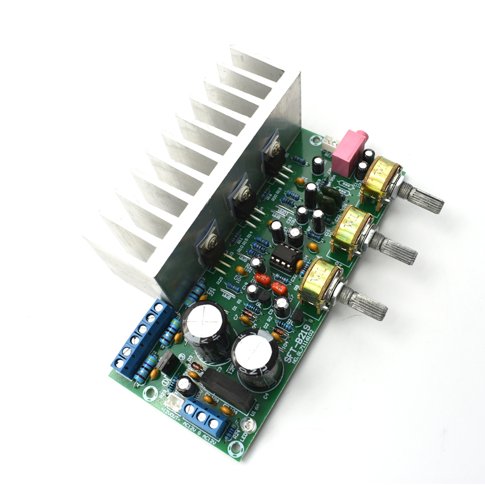 Lusya 60w Tda2050 Tda2030 21 Channel 18w2 32w Subwoofer Power Circuit Diagram For Hifi Audio Amplifier Board With Heatsink D5 006 In From Consumer Electronics On