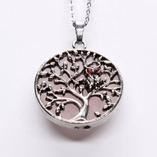 Tree of Life Owl Pendant