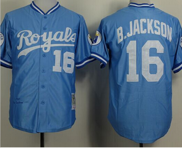 timeless design 34b2d 1fd25 Bo Buy Jackson Authentic Arrival Royals Jersey City Baby 24 ...