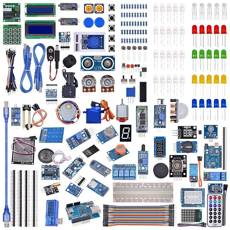 UNO R3 LCD Sensor Wifi Bluetooth Laser Beginner Starter Kit For Arduino