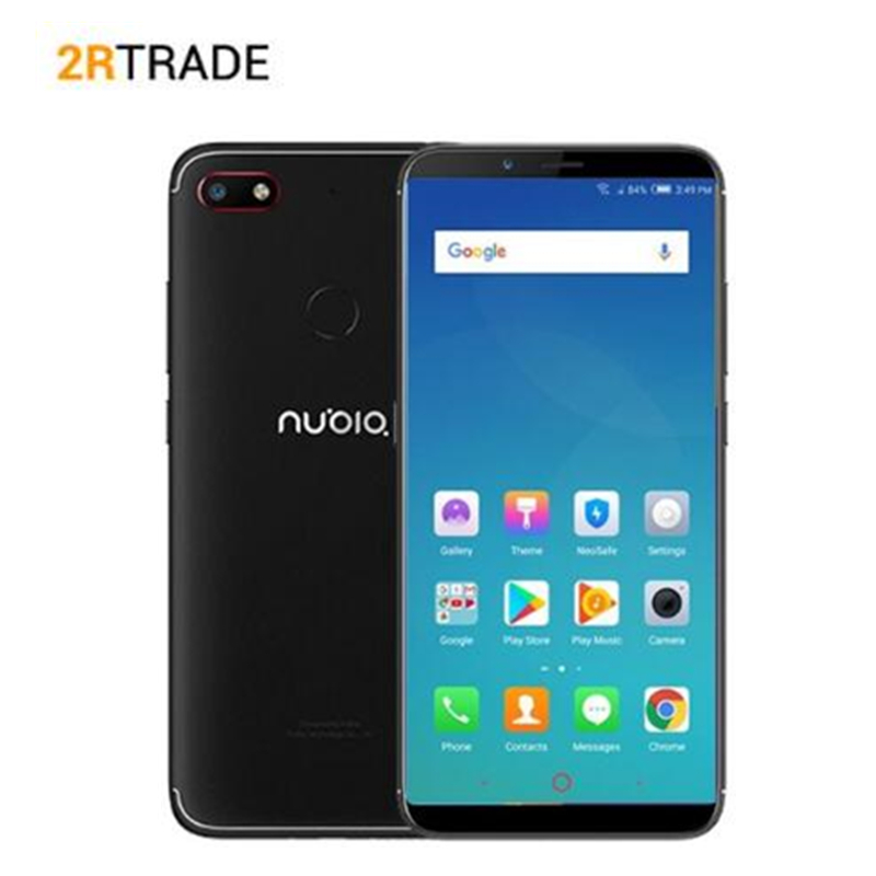 Original Nubia N3 4G 64G 6.01 inch 5000mAh Snapdragon 625 Mobile Phone Front 16.0MP Dual Rear CameraAndroid 7.1 Face ID