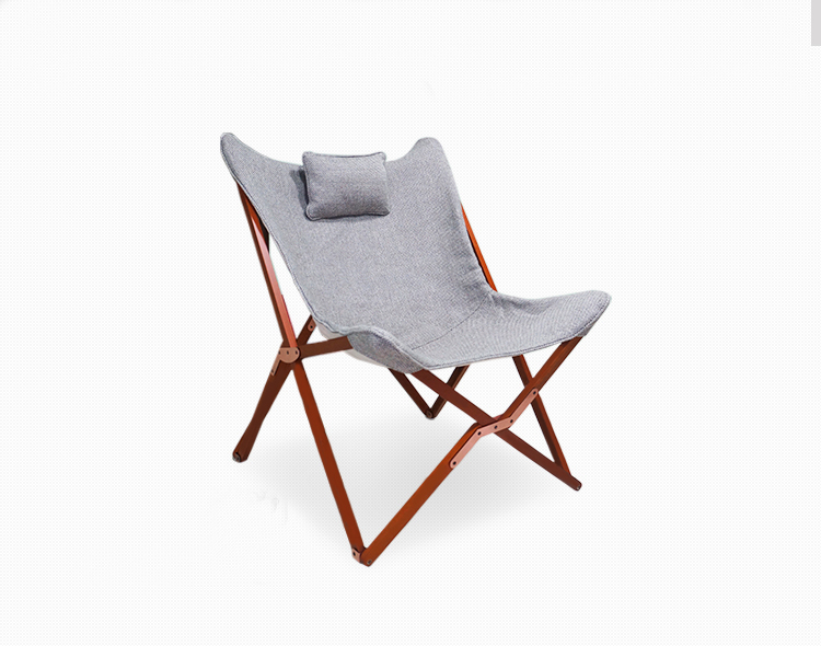 Free Shipping Portable Chaise Lounge Butterfly Chair nautical wheel chaise lounge finish sand