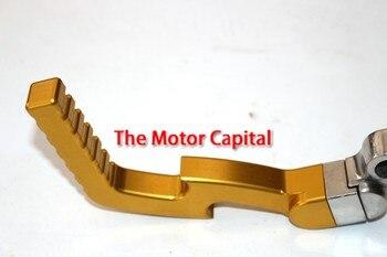 50 70 90 110 125 150 cc, piezas de oro CNC, aleación de arranque, palanca de arranque Kickstarter BSE CRF50 KLX Pit Dirt Bike ATV Quad Buggy
