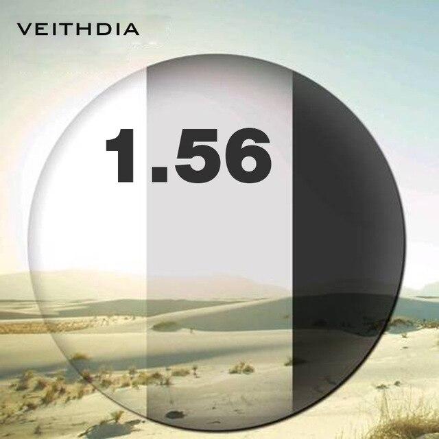 1.56 indice photochromique Vision unique pour la myopie 0.00-4.00, astigmatisme 0.00-2.00 degrés lentille asphérique