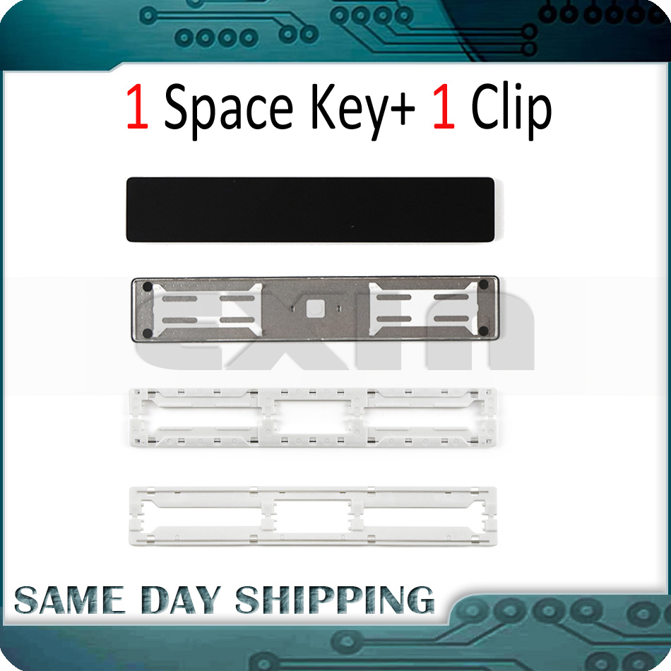 Laptop A1706 A1707 A1708 Keyboard Space Bar Key Cap Keys Keycap w/ Clip Scissor Hinge for Macbook Pro Retina 13 15 2016 2017 image
