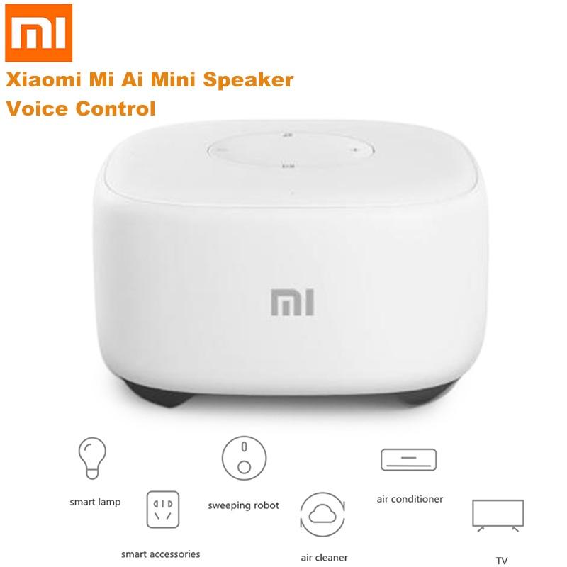 Original Xiaomi Mi Ai Artificial Intelligent Mini Speaker Voice Control Smart Speaker Radio Player WiFi Story Teller Kid GIft