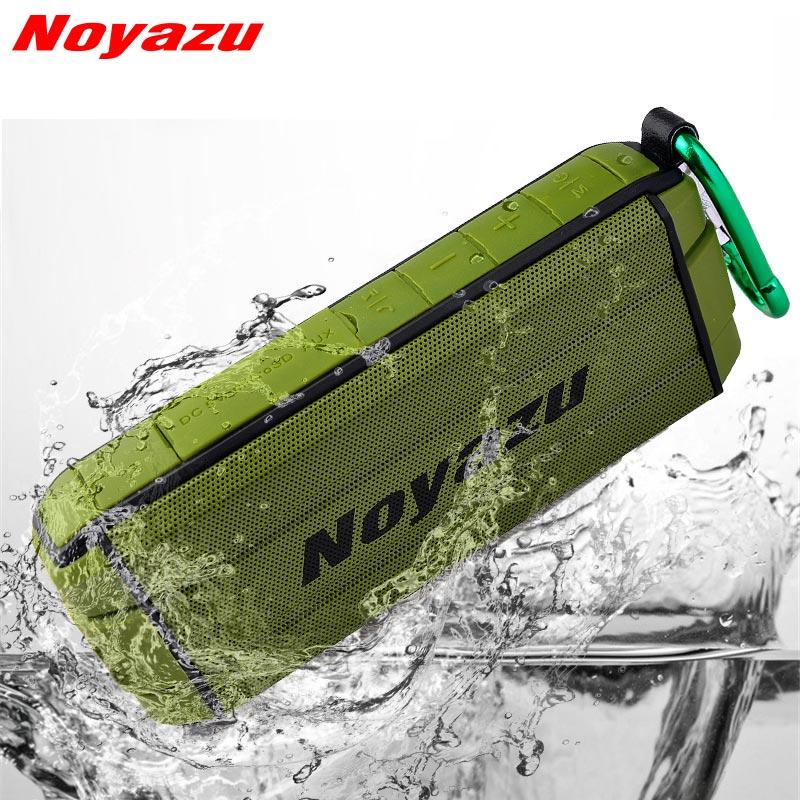 Noyazu T300 Étanche En Plein Air Sans Fil Bluetooth Mini Haut-Parleur Subwoofer Douche Portable haut-parleurs Mains Libres Micro pour Téléphone Compu
